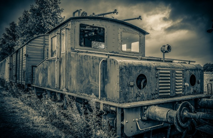 A ghost train, they call it. I have yet to see it, but I'm heading to Omaha next week for first hand research...